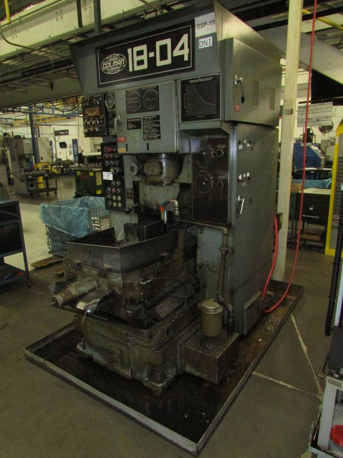 Barber Colman 18-04 Vertical Gear Shaping Machine - Image 11 of 19