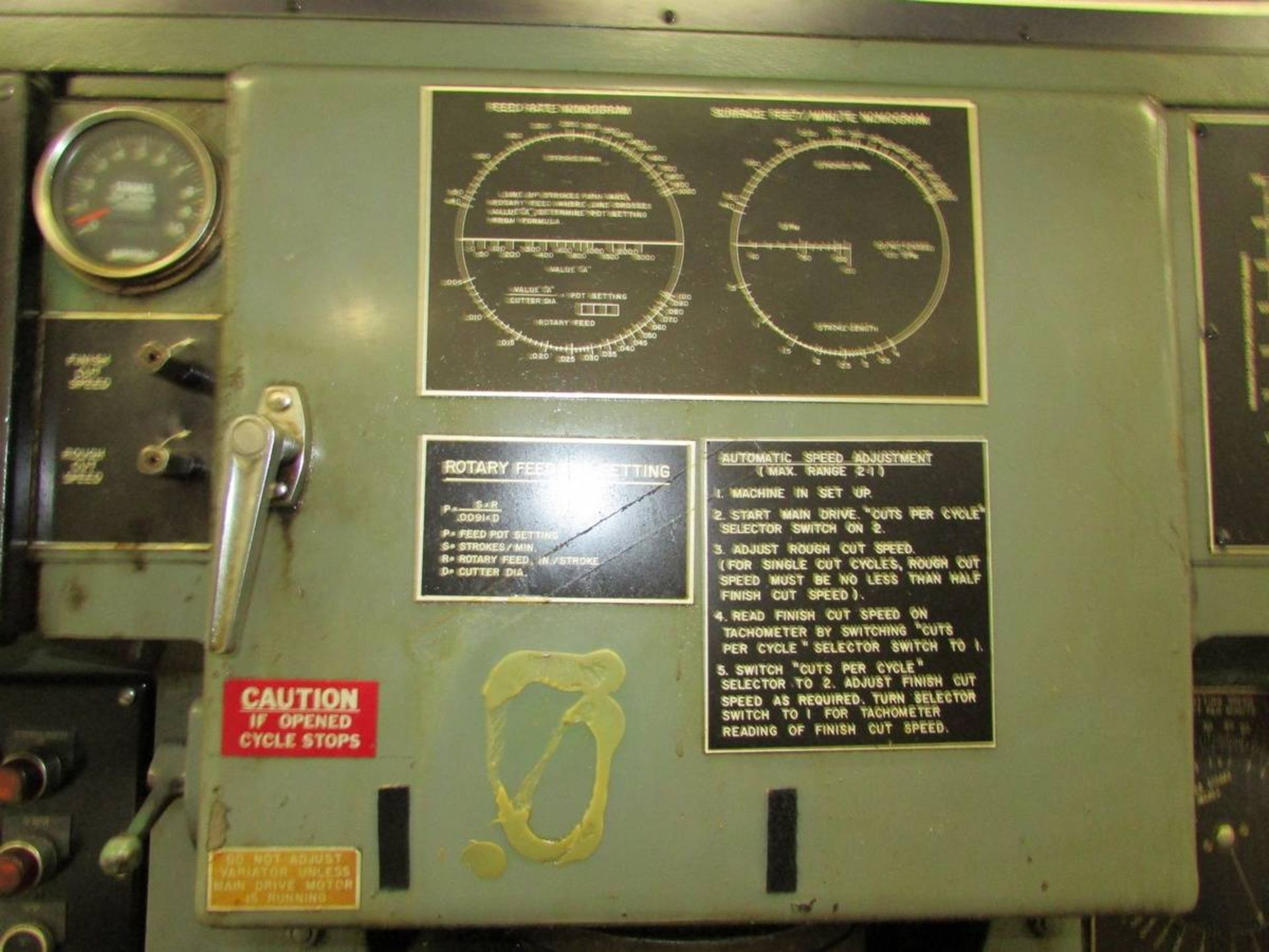 Barber Colman 18-04 Vertical Gear Shaping Machine - Image 5 of 19