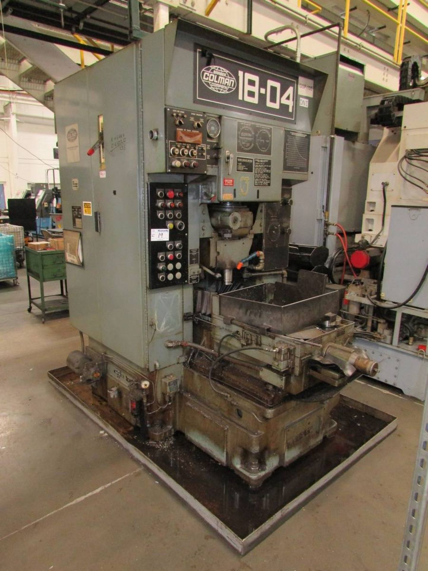 Barber Colman 18-04 Vertical Gear Shaping Machine