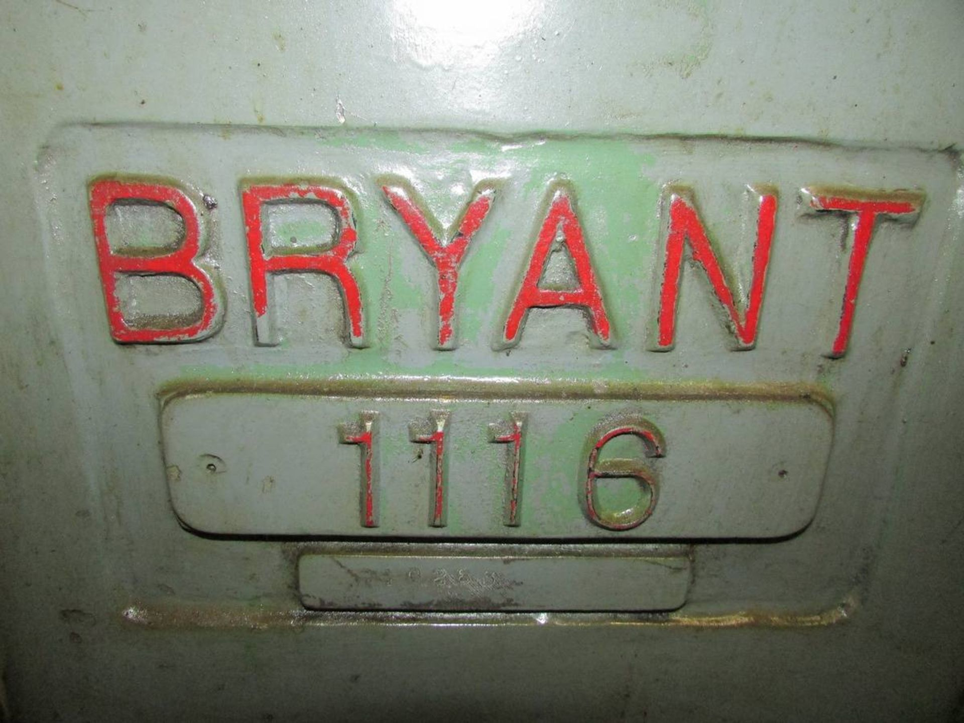 1981 Bryant 1116 ID Cylindrical Grinder - Image 20 of 20