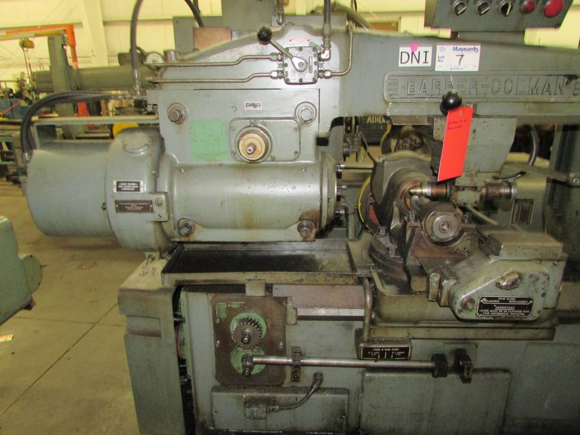 Barber Colman 16-16 Gear Hobbing Machine - Image 3 of 24