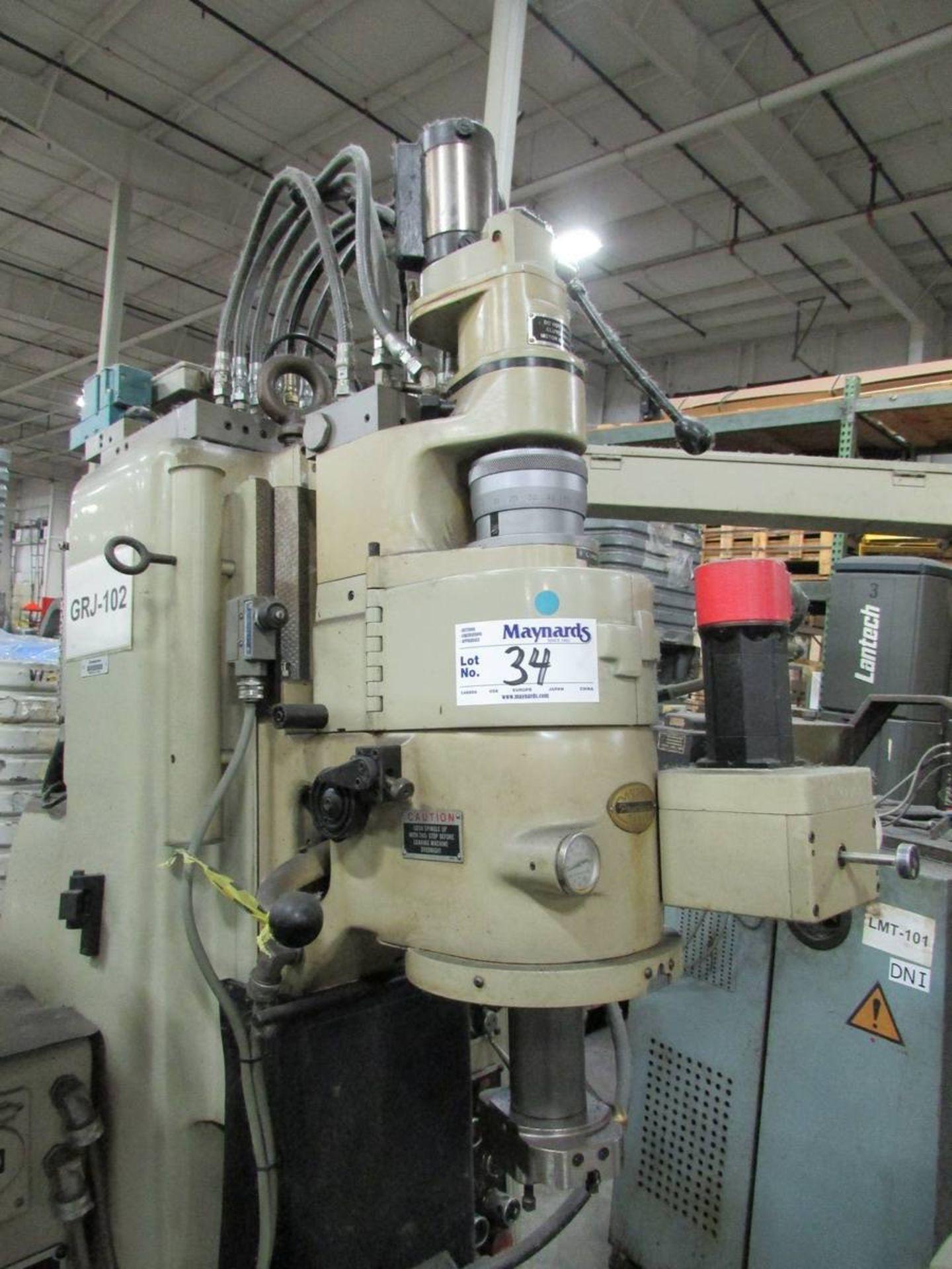Moore G-18 Vertical CNC Jig Grinder - Image 3 of 28