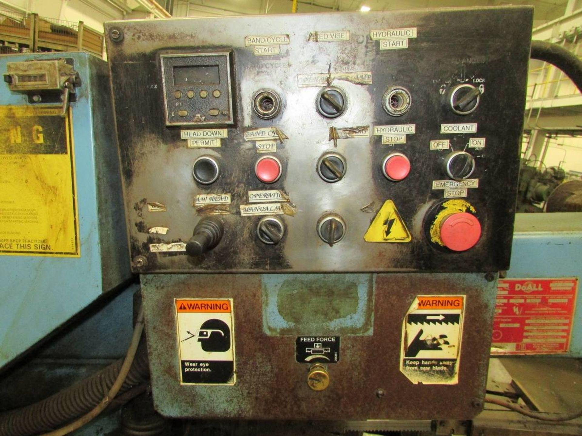 DoAll C-916SA Automatic Horizontal Bandsaw - Image 5 of 14