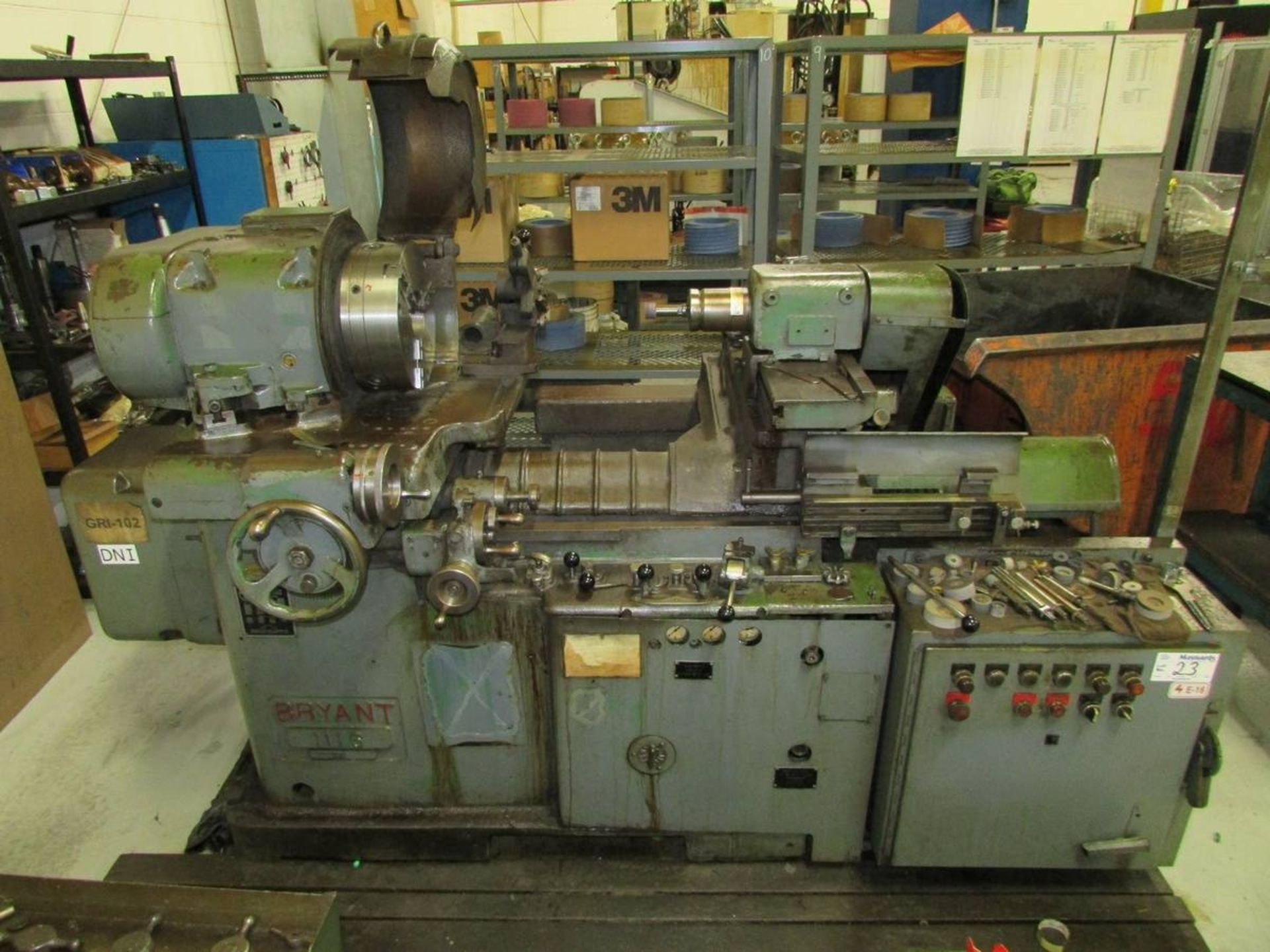1981 Bryant 1116 ID Cylindrical Grinder - Image 2 of 20