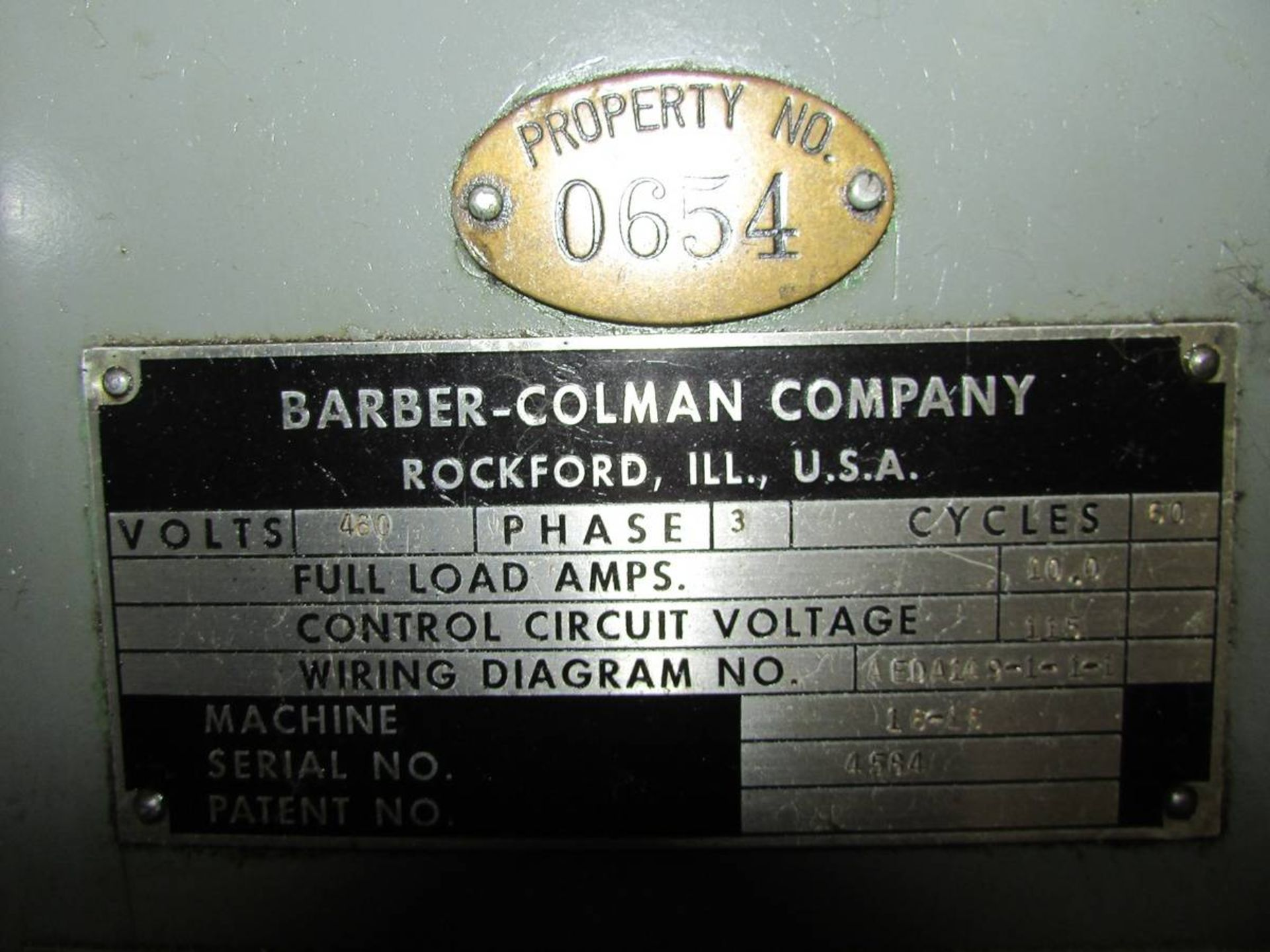 Barber Colman 16-16 Gear Hobbing Machine - Image 23 of 24
