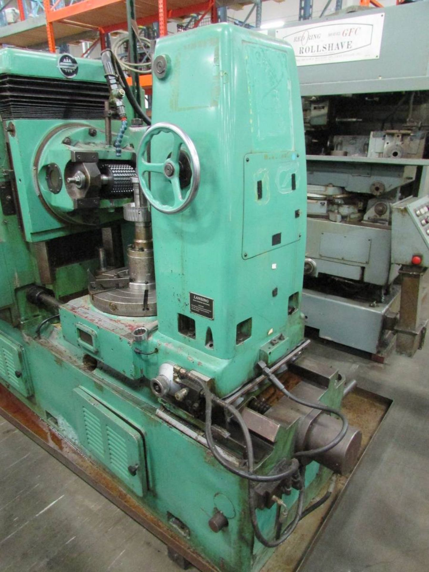 1984 Lansing GH20 Universal Gear Hobbing Machine - Image 11 of 16