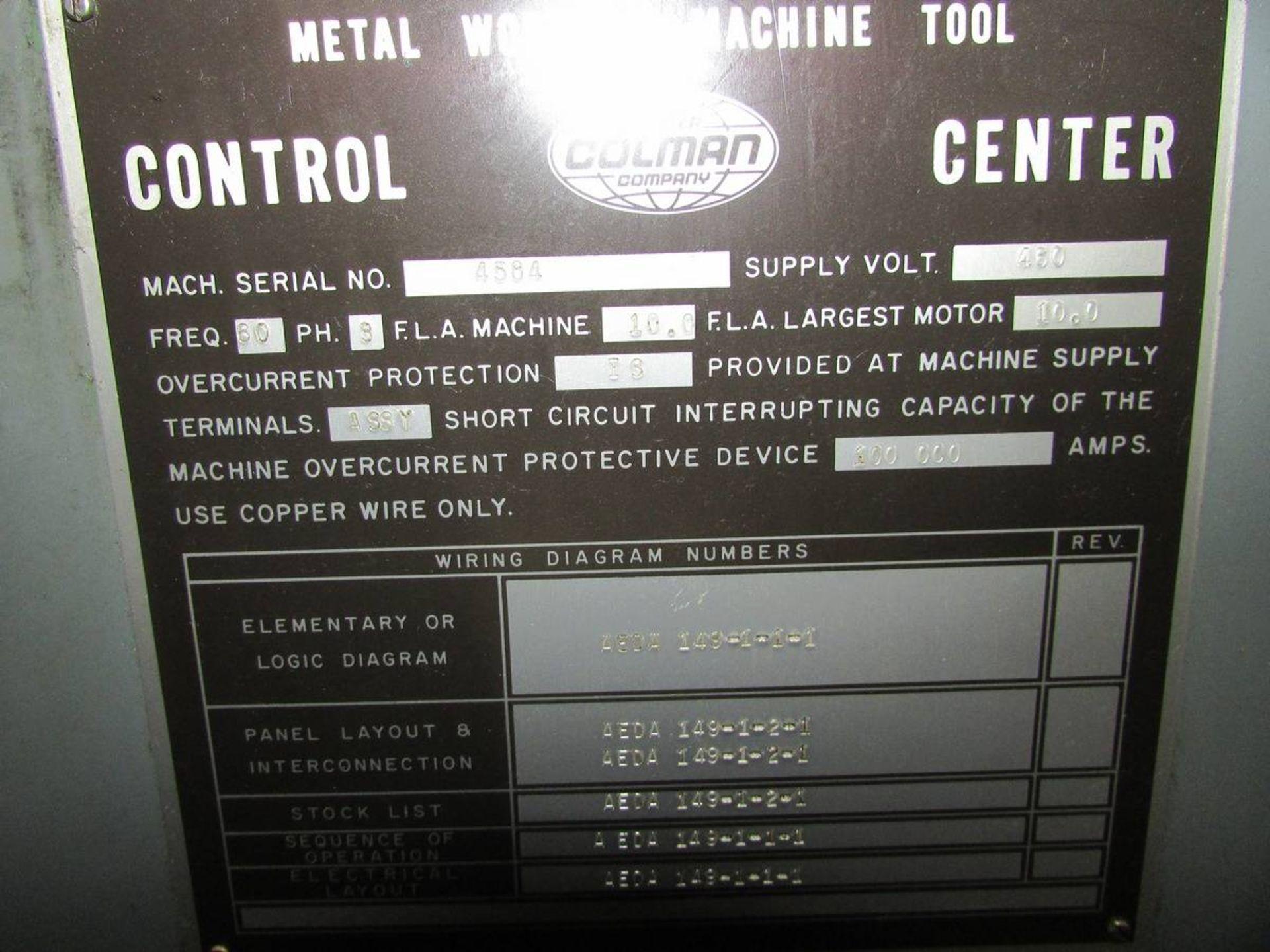 Barber Colman 16-16 Gear Hobbing Machine - Image 22 of 24