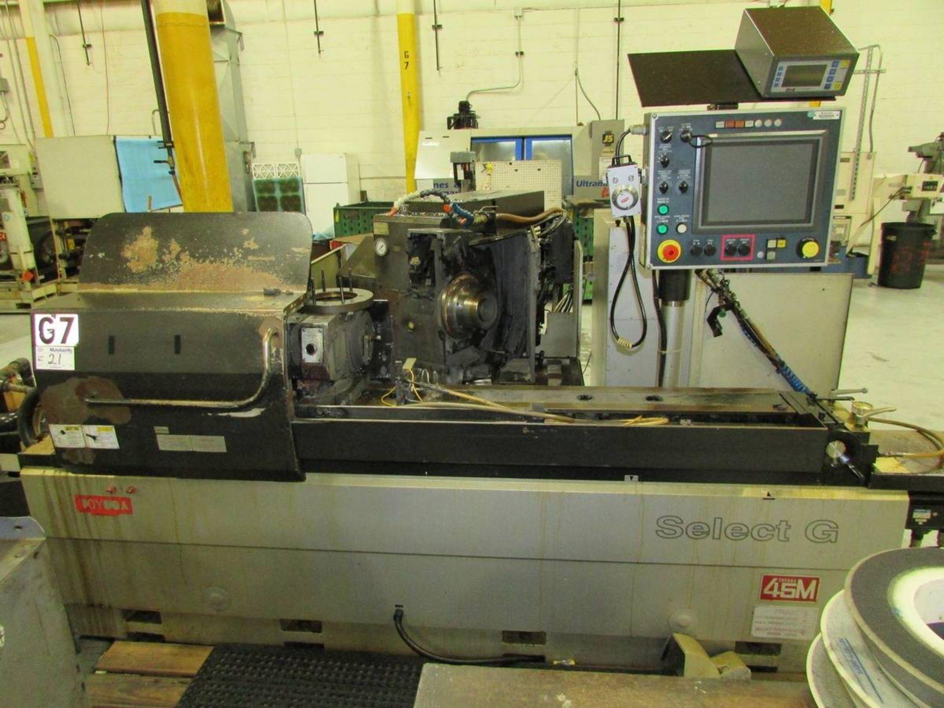 2012 Toyoda/ JTEKT 45m Select G II CNC OD Cylindrical Grinder - Image 2 of 21