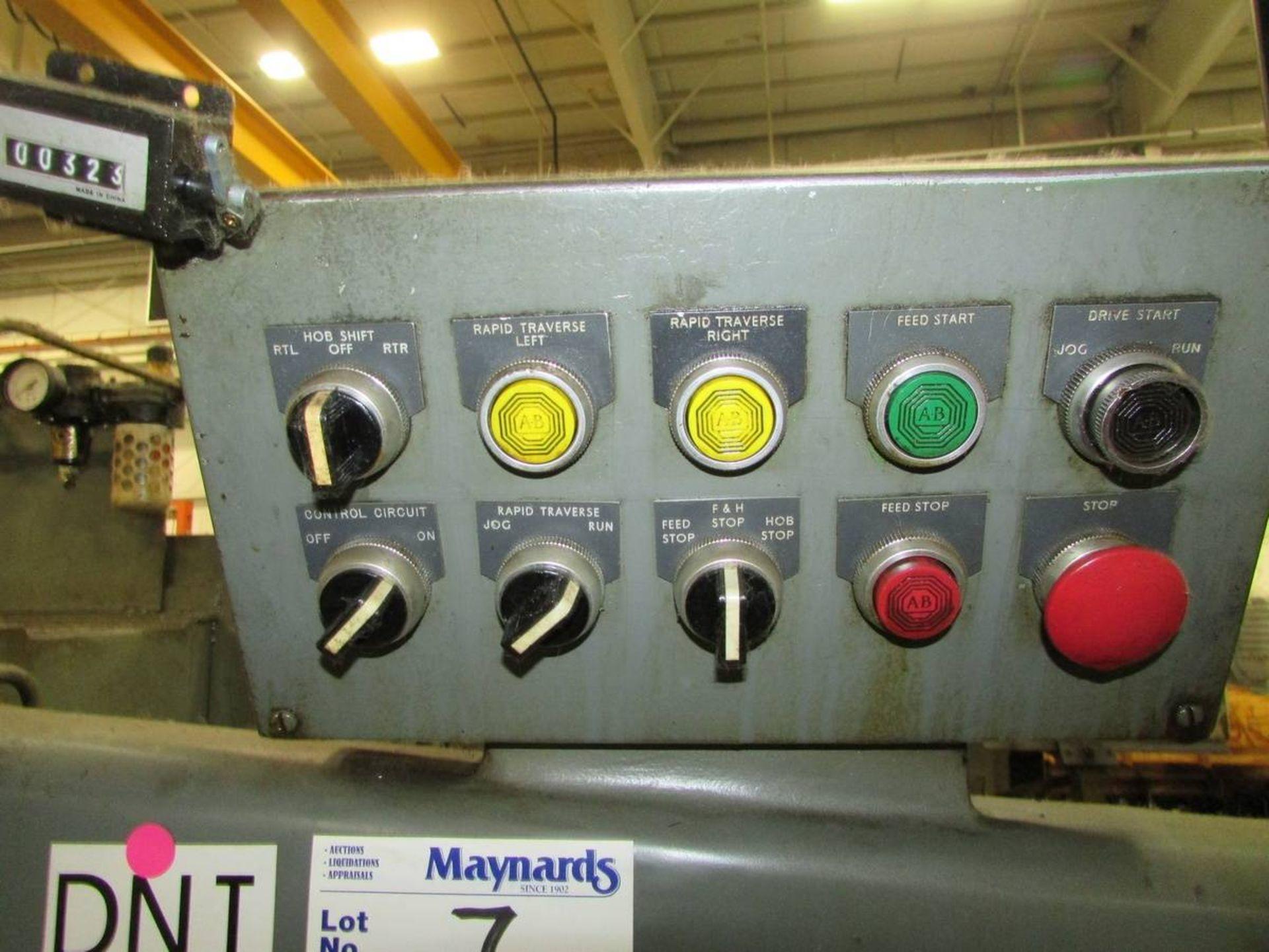 Barber Colman 16-16 Gear Hobbing Machine - Image 11 of 24