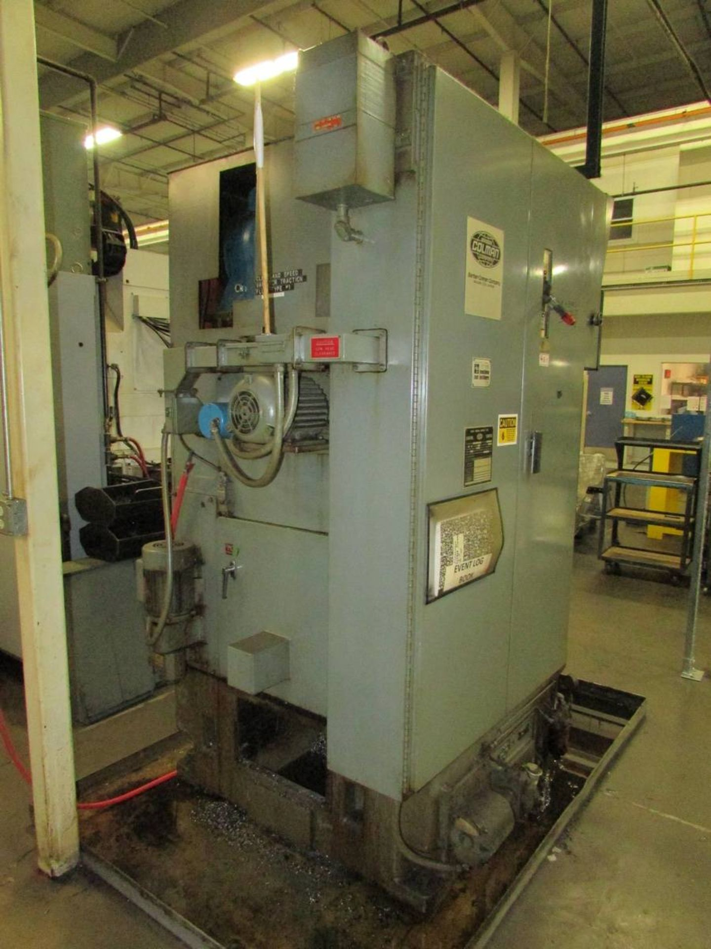 Barber Colman 18-04 Vertical Gear Shaping Machine - Image 15 of 19