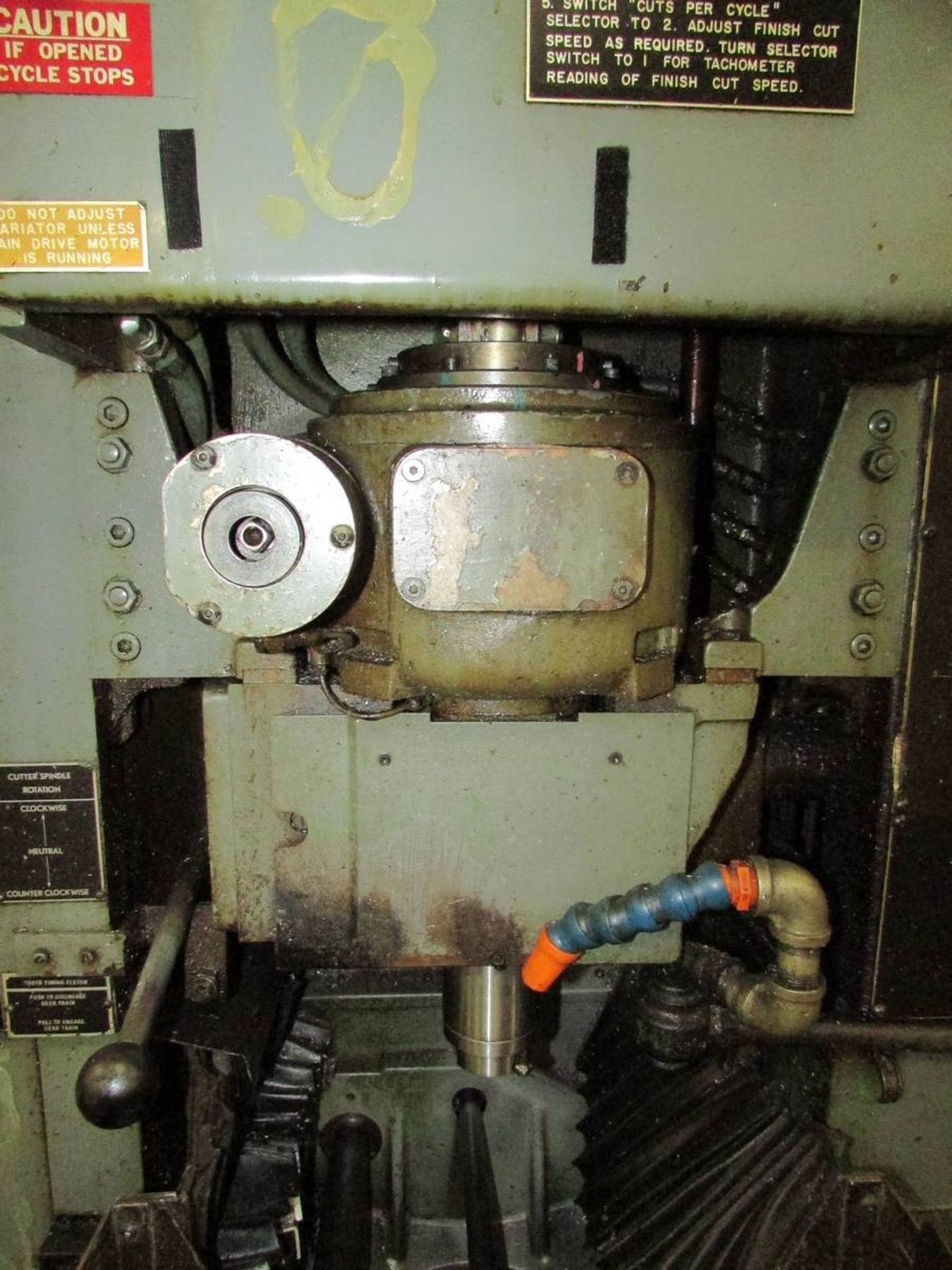 Barber Colman 18-04 Vertical Gear Shaping Machine - Image 4 of 19
