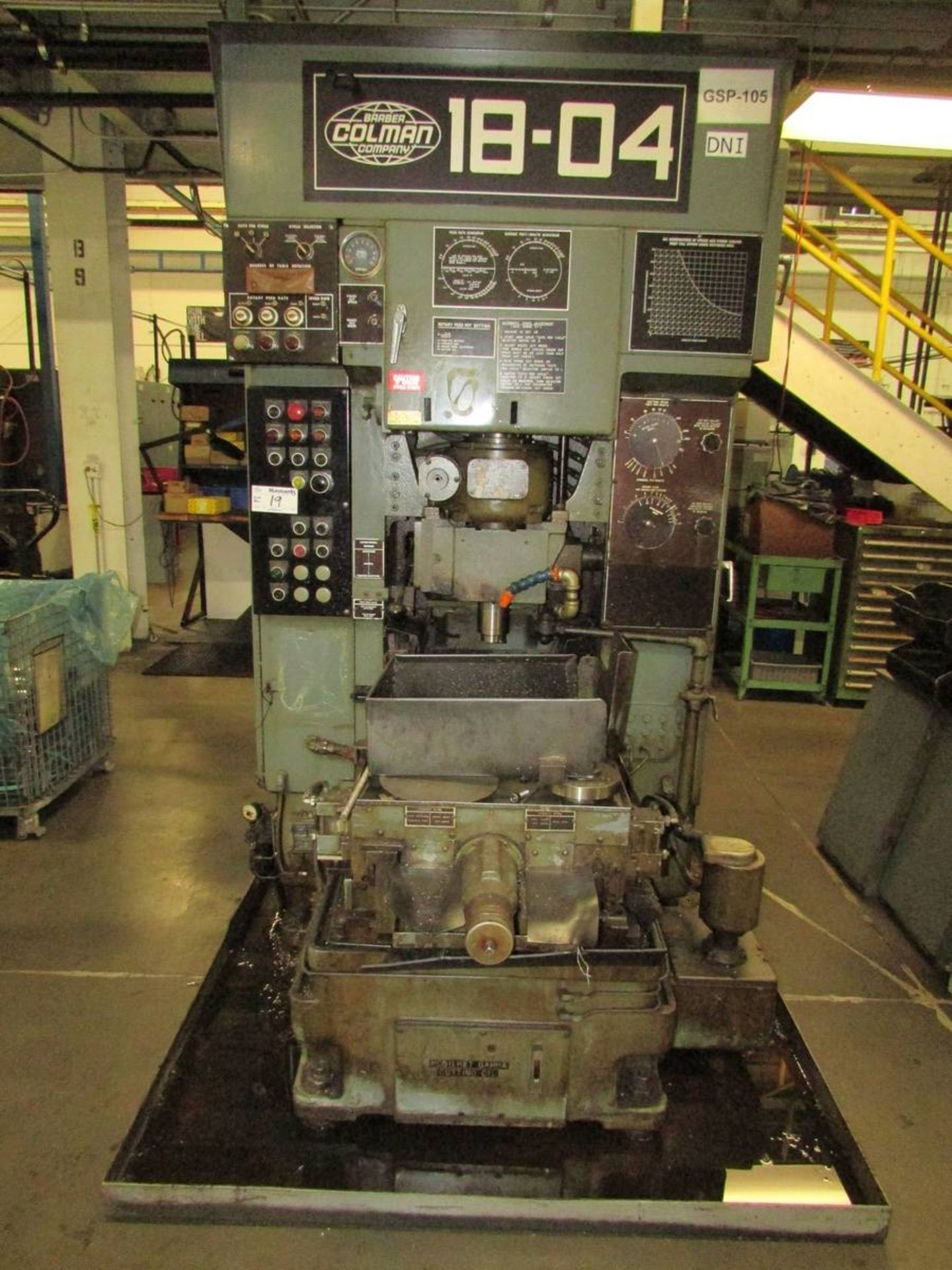 Barber Colman 18-04 Vertical Gear Shaping Machine - Image 2 of 19