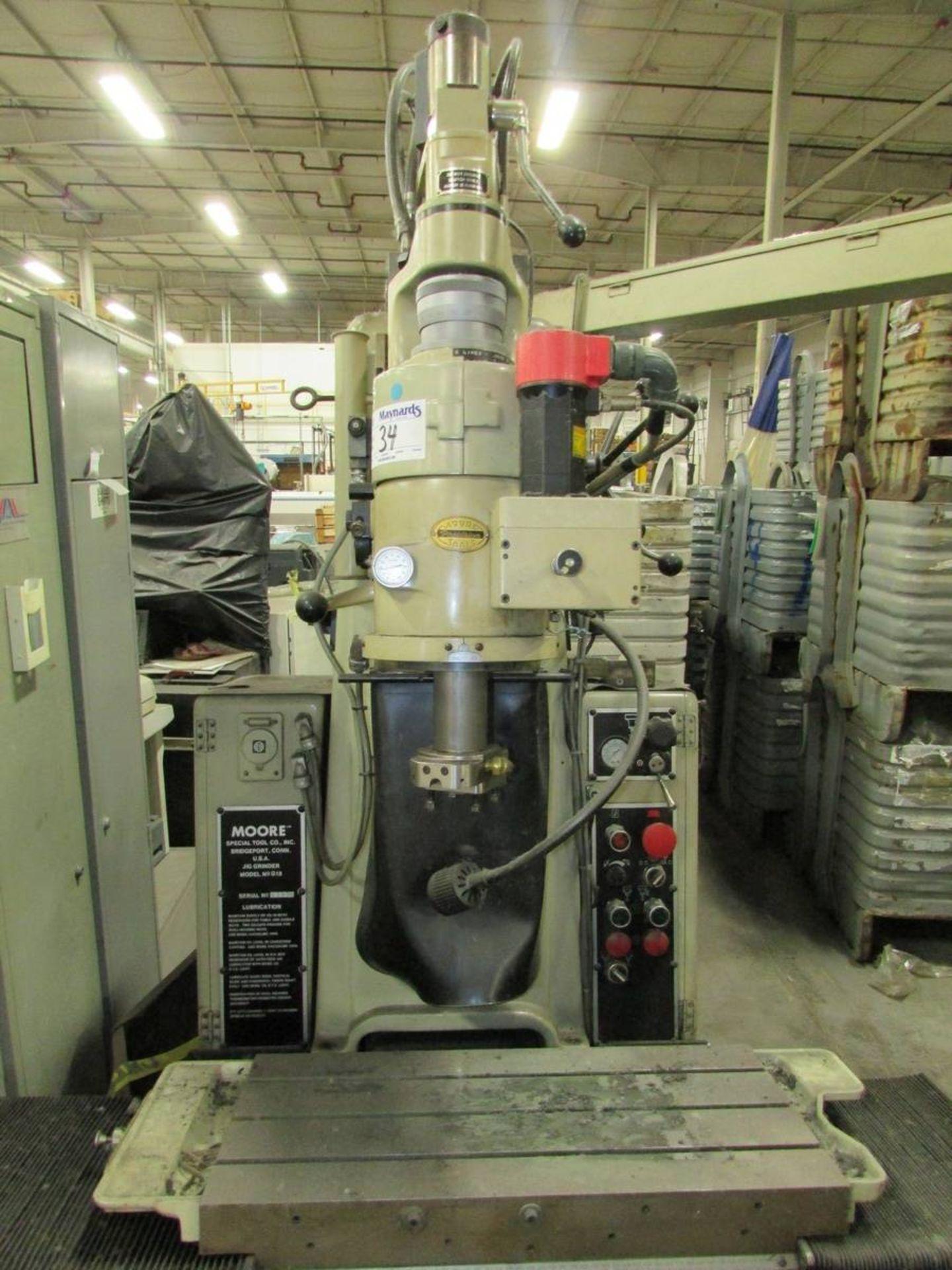 Moore G-18 Vertical CNC Jig Grinder - Image 8 of 28