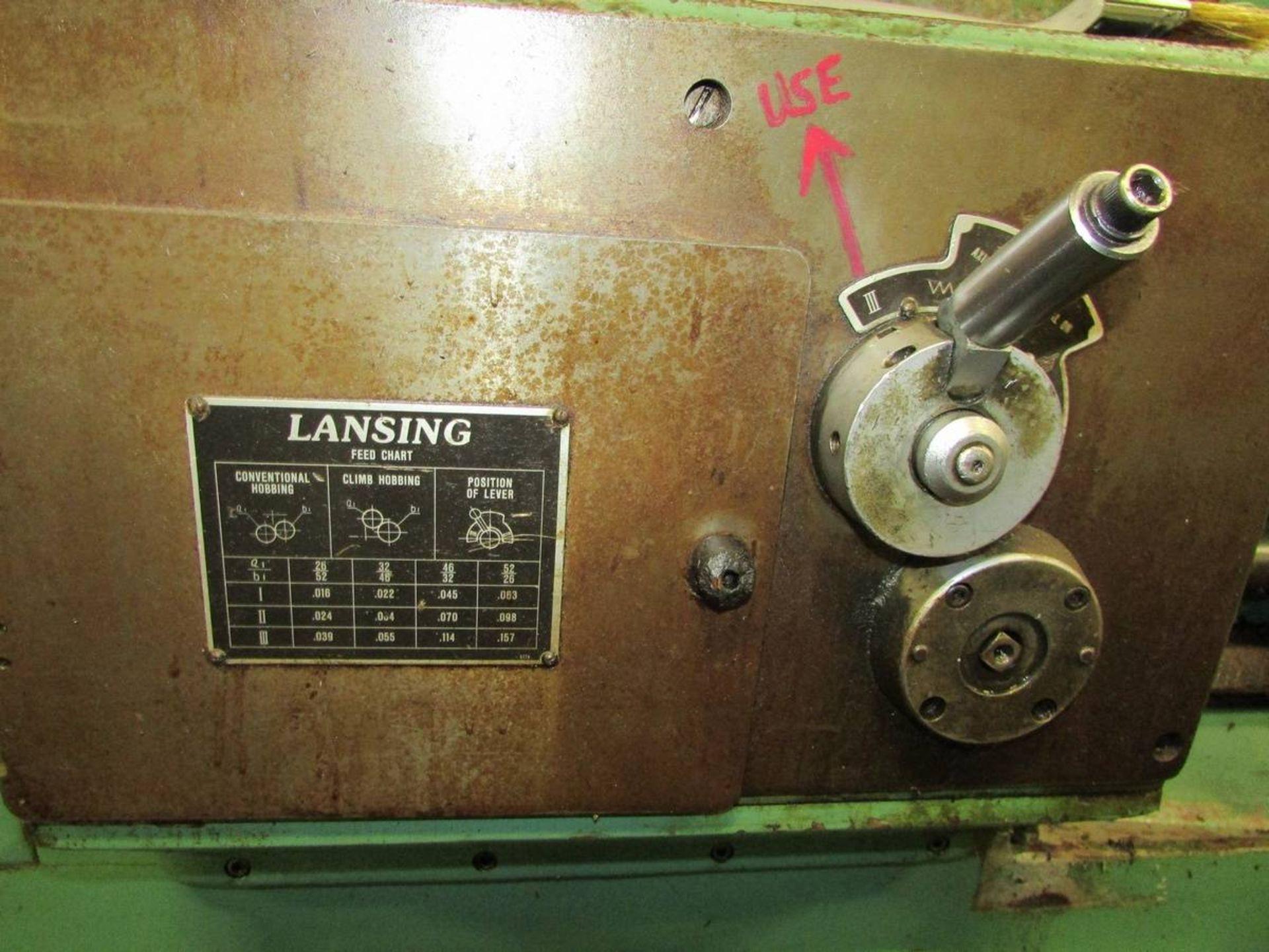 1984 Lansing GH20 Universal Gear Hobbing Machine - Image 10 of 16