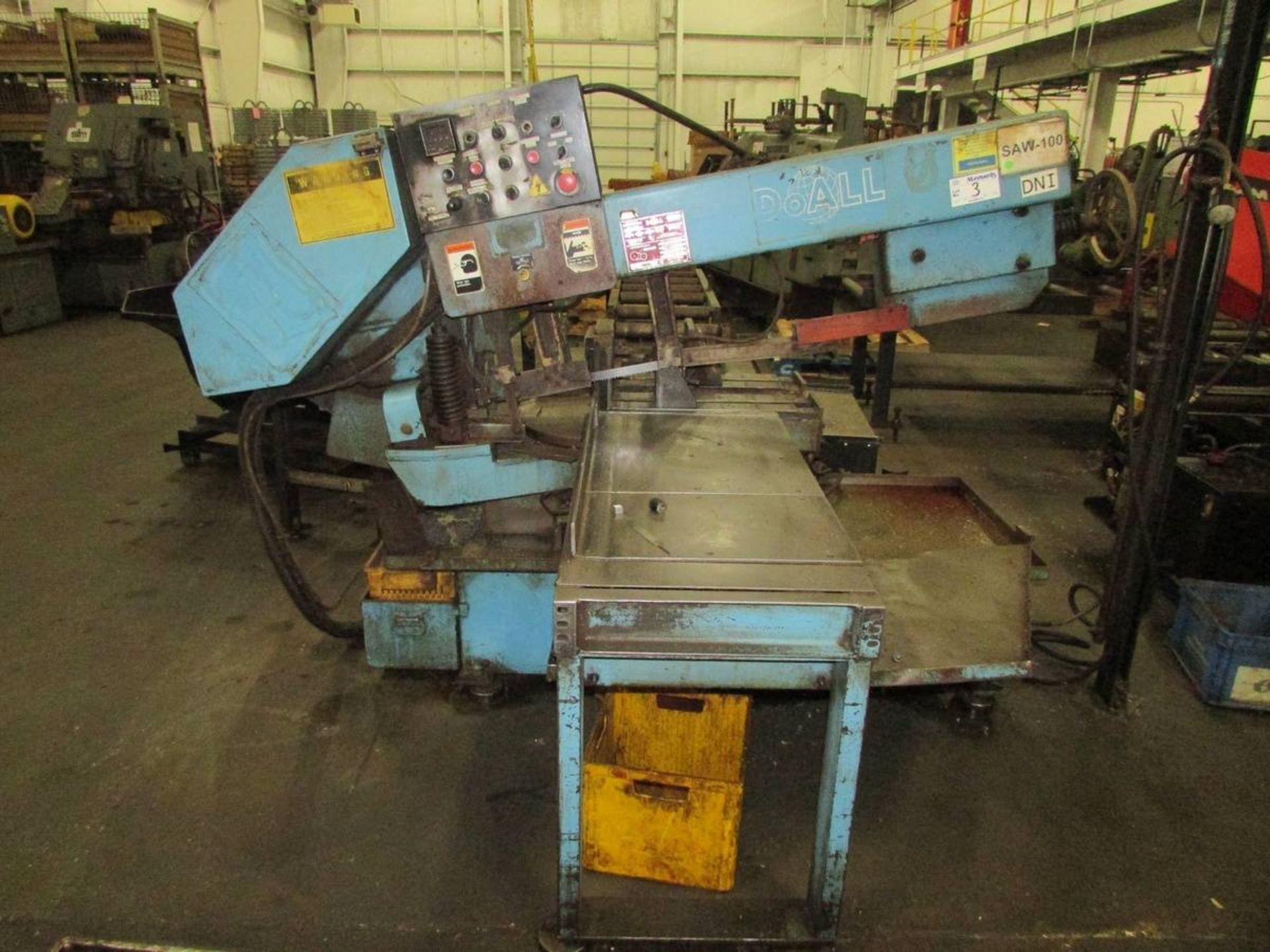 DoAll C-916SA Automatic Horizontal Bandsaw - Image 2 of 14