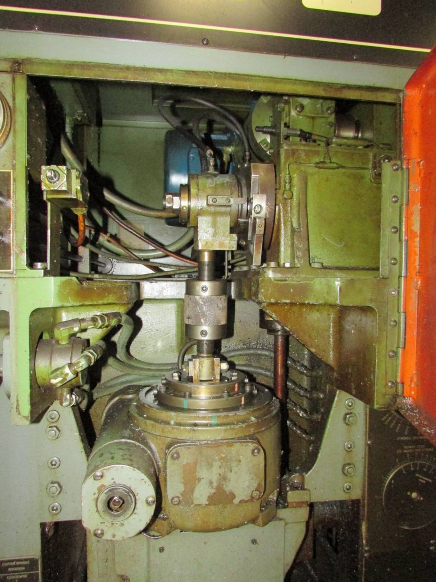 Barber Colman 18-04 Vertical Gear Shaping Machine - Image 6 of 19