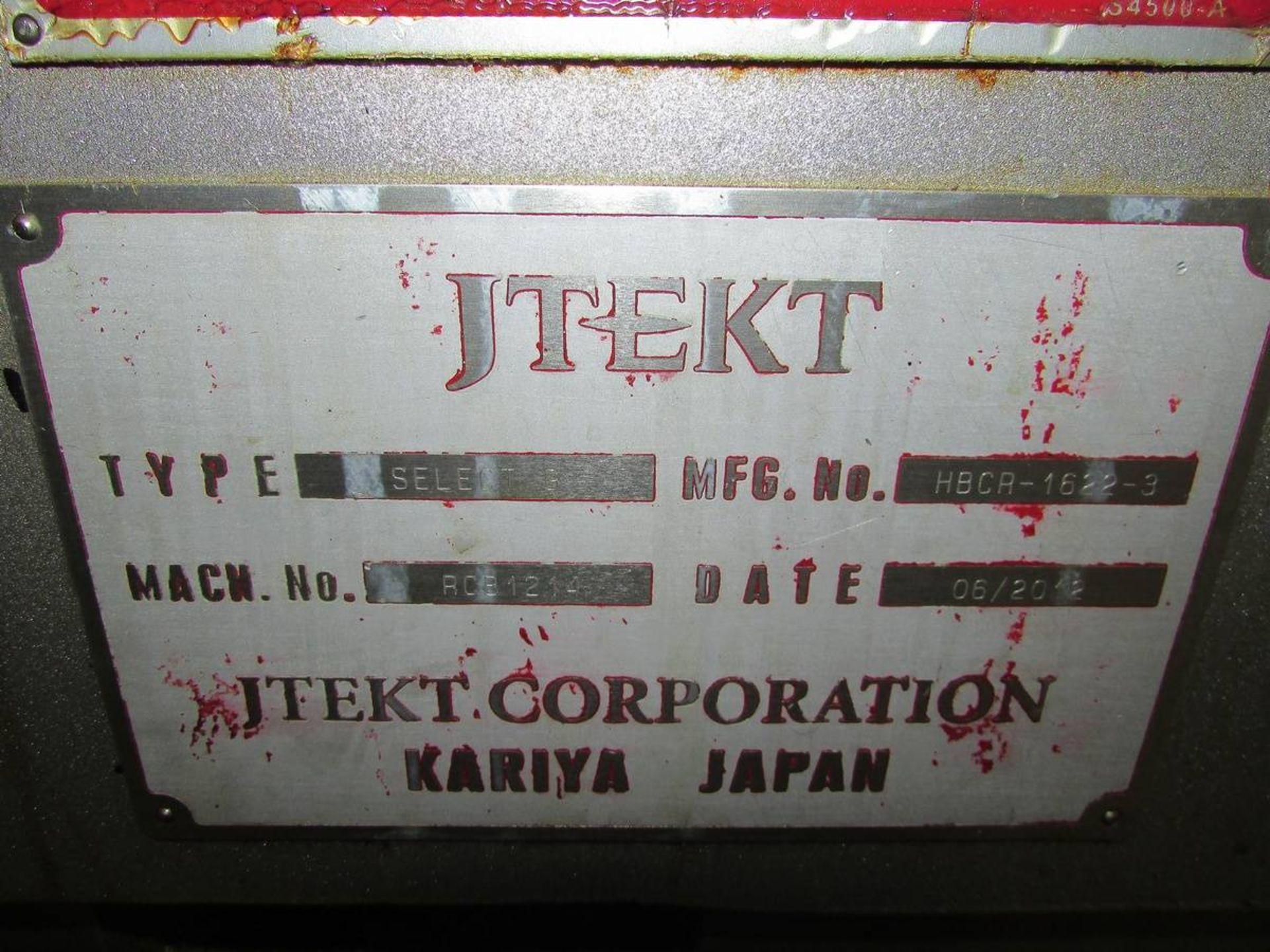 2012 Toyoda/ JTEKT 45m Select G II CNC OD Cylindrical Grinder - Image 21 of 21