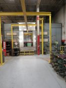 Savard 5CW-B-20-12-20 Wet Spray Paint Booth - Approx. Size 15' x 20'