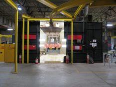 Savard SCCD-20-12-20 Wet Spray Paint Booth