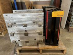 """Lot of (2) Chick 6"""" x 6"""" x 18"""" Tombstones & (2) 12"""" x 18"""" x 9"""" D Angle Plates"""
