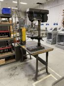 Bench Drill Press and Vertical Belt Grinder w/ Metal Table
