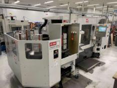 2011 Haas EC-400PP 4-Axis CNC Horizontal Machining Center w/ 6-Station Pallet Pool