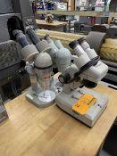 Lot of (3) Microscopes