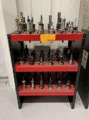 40-Taper Tool Holders w/ Huot Tool Tower