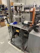 Bench Drill Press and Vertical Belt Grinder w/ Mobile Base