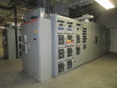 Electrical Switch Gear, Transformers and Capacitor Banks In Substation