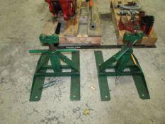 Greenlee 687 (2) Screw Type Reel Stands
