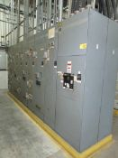 Square D 6 9-Section Motor Control Center