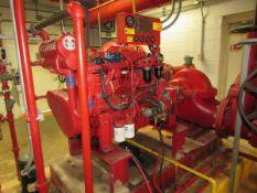 Clarke Detroit Diesel -Allison PDFP06YT-L12120F Diesel Fire Pump Engine