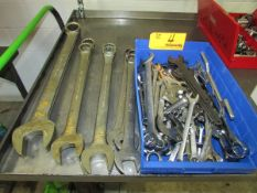 Lot of Assorted Metric and SAE Wrenches