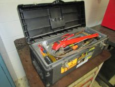 """Stack-On 26"""" Open-Top Steel Tool Box"""