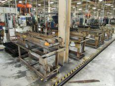 "36""x48"" Tray Heat Treat Batch Transfer Conveyor System"