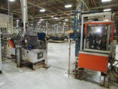 Automatic Pinion Gear Conveyor Burnishing and Wash Line
