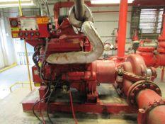 2000 Clarke Detroit Diesel -Allison DDFP06TA-115F Diesel Fire Pump Engine