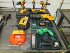 (7) Assorted Electric Power Tools