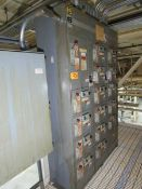 Square D 6 3-Section Motor Control Center