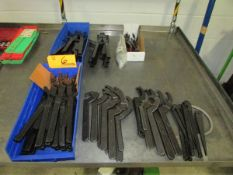 Lot of Assorted Spanner Wrenches and Retaining Ring Pliers