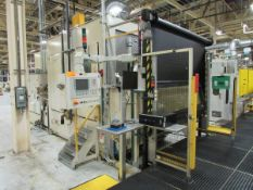 Valiant Robotic Twin Pallet Automatic High-Pressure Parts Deburr and Wash Machine