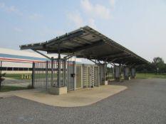24.96 Kw Photovoltaic EV Car Charging Carport