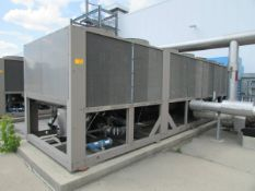 2012 York YCIV0307PA46VABSXT 300 Ton Air Cooled Screw Liquid Chiller