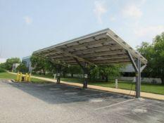 2010 Standard Solar 9.87kW Photovoltaic EV Car Charging Carport
