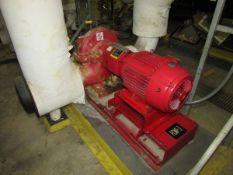 Bell & Gossett HSC3 9.125 LHR 30HP Centrifugal Pump Skid