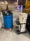Exair (1) 30 Gal. Drum Vacuum Cleaners