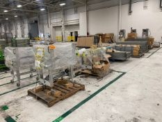 Span-Track (4) Pallets Of Various Size Rolling Conveyor