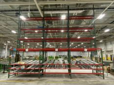 (10) Section Of Various Size Pallet Racking,