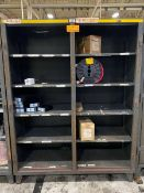 Strong Hold (1) Heavy-Duty Missing 2-Door Storage Cabinets